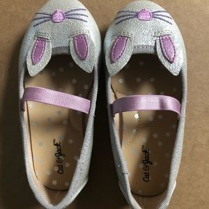 Toddler girl bunny shoes size 7